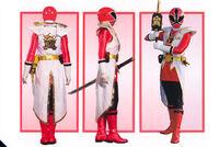 Red Samurai Ranger Super Mode2