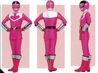 Pink Time Force Ranger Form