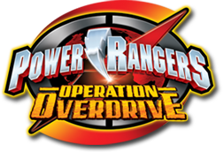 Power Rangers Operation Overdrive logo