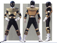 Gold Zeo Ranger Form