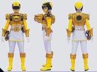 Yellow Megaforce Ranger Ultra Mode