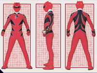 Red Jungle Ranger Form