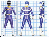 Blue Space Ranger Form