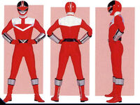 Red Time Force Ranger Form