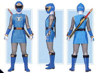 Blue Wind Ranger Form