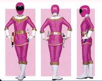 Pink Zeo Ranger Form