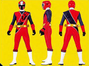 Red Ninja Steel Ranger Form