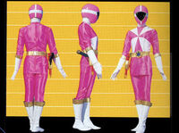 Pink Lightspeed Ranger Form