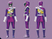 Purple Dino Charge Ranger Form2