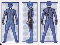 Blue Jungle Ranger Form