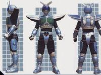 Dragonborg Ranger Form
