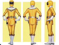 Yellow Zeo Ranger Form