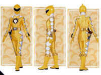 Yellow Dino Ranger Form