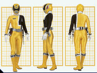 SPD Yellow Ranger Form