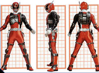 SPD Red Ranger Swat Mode