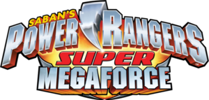 Power Rangers SuperMegaforce Logo