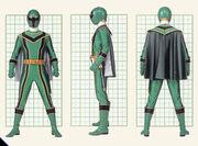 Green Mystic Ranger Form