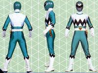 Green Galaxy Ranger Form