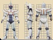 White Blaster Borg Form
