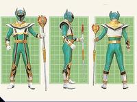 Green Mystic Ranger Legend Mode