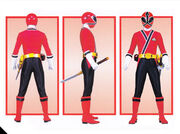 Red Samurai Ranger Form
