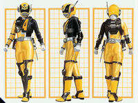 SPD Yellow Ranger Swat Mode