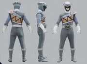 Graphite Dino Charge Ranger Form