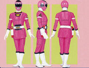 Pink Turbo Ranger Form