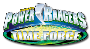 Power Rangers Time Force log