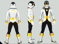 Silver Super Megaforce Ranger Form
