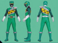 Green Dino Charge Ranger Form2