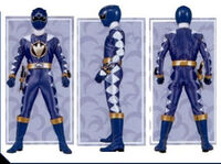 Blue Dino Ranger Form