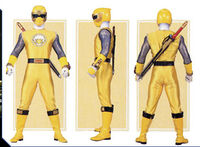 Yellow Wind Ranger Form