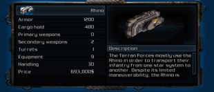 Rhino Info Box