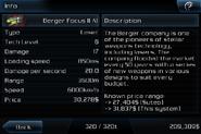 Berger Focus II A1