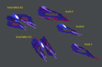 Void new ships
