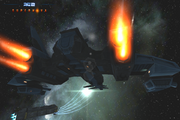 Galaxy-on-fire-2-supernova-3D-space-action-shooter-iphone-ipad-CLUSTER-MISSILES