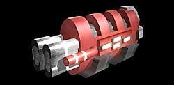 Weapon tyrfing blaster 250