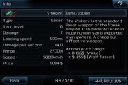 V-skorr info page