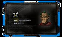 Character-box-galaxy-on-fire-2-norris-bernard-sci-fi-cyborg-commander-renegade