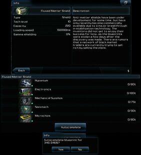Fluxed-Matter Shield 0