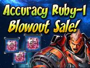 Accuracy Ruby-I Blowout Sale