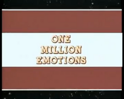 One mil emotions titlecard