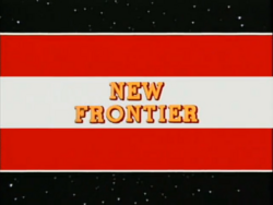 New frontier titlecard