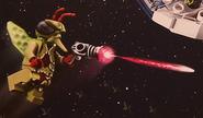 Type-I Sonic Blaster Fire