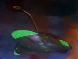 Martian Warship