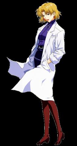 Chief Scientist Ritsuko Akagi
