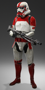 Imperial Shock Trooper canon
