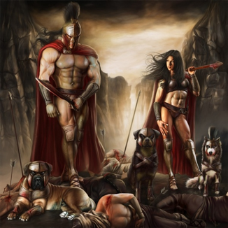 Spartan-warriors