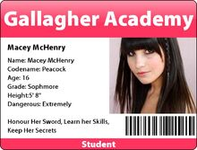 Macey mchenry id badge by izzy rules the world